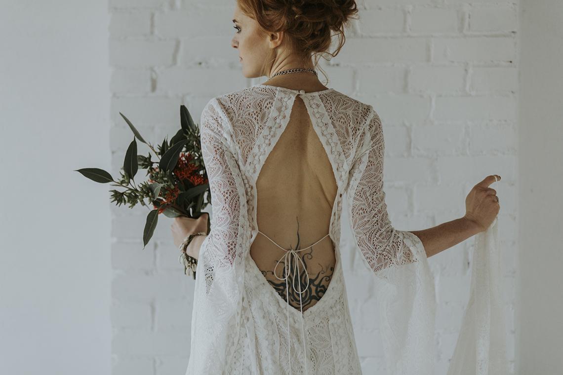 sukienka ślubna vintage