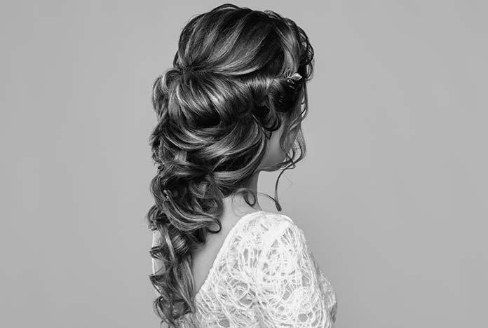 Fryzura na ślub boho