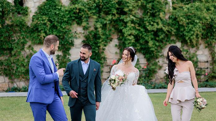 Podziękowania dla świadków weselnych